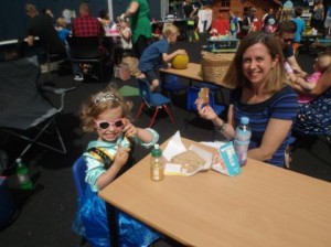Teddy bear picnic at Radmoor Day nursery in Loughborough